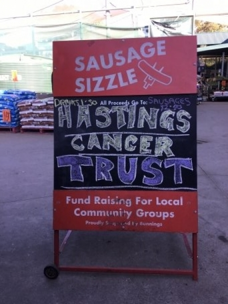 Bunnings BBQ Fundraiser August 2018 image