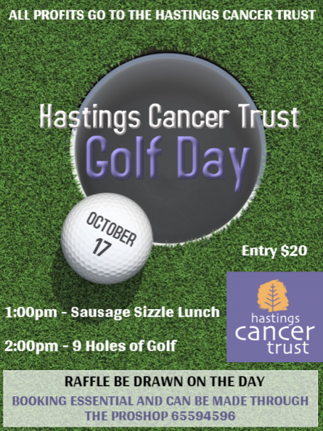 Kew Country Club Supports Hastings Cancer Trust  image