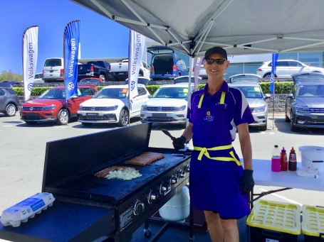 John Oxley Motors donates BBQ proceeds to Hastings Cancer Trust  image