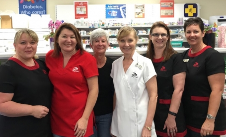 Lake Cathie Medical Centre Pharmacy hosts morning tea for Breast Cancer month image